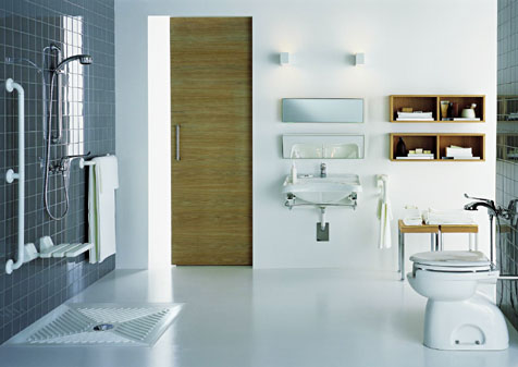 B r a v o home interior design deco for Porta wc disabili