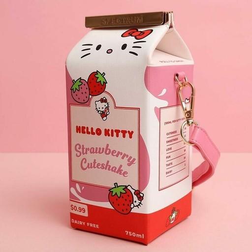 凱蒂粉尖叫!英刷具品牌推「Hello Kitty 美妝套組」,草莓牛奶收納包拎去哪都超吸睛~