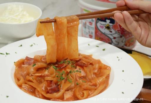 韓國辣雞麵新品再加一!韓國三養「玫瑰辣醬寬粉」Q 彈帶勁更開胃
