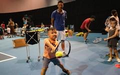 資深國手陳迪率領台塑之星任講師 迷你網球體驗活動氣氛歡樂
